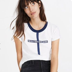 Madewell x Monogram This Is a T-Shirt About Women